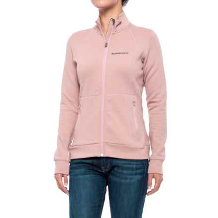 Peak Performance Midlayer Fleece Jacket (For Women) in Dustyroses - Closeouts