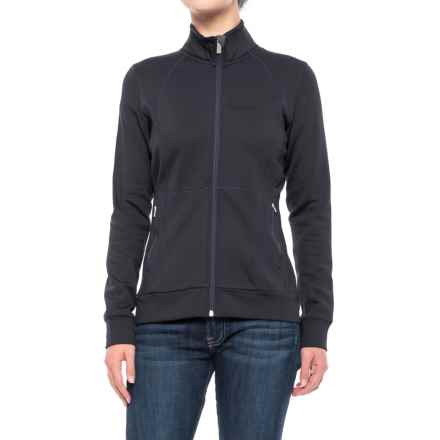 Peak Performance Midlayer Fleece Jacket (For Women) in Saluteblue - Closeouts
