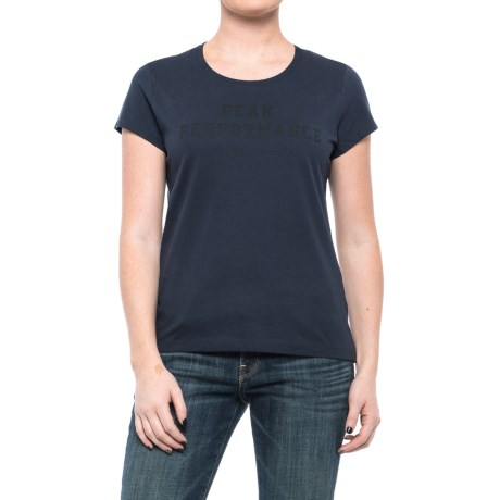 Peak Performance Paula T-Shirt - Short Sleeve (For Women) in Saluteblue