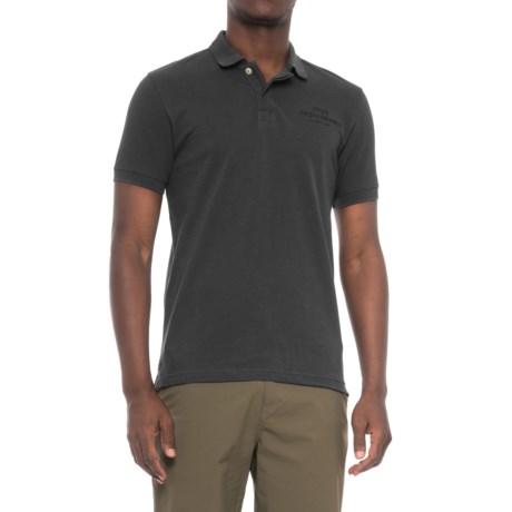 Peak Performance Pique Polo Shirt - Short Sleeve (For Men) in Black