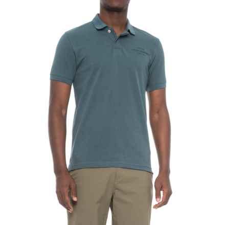 Peak Performance Pique Polo Shirt - Short Sleeve (For Men) in Bluesteel - Closeouts