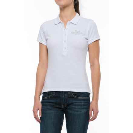 Peak Performance Pique Polo Shirt - Short Sleeve (For Women) in White - Closeouts