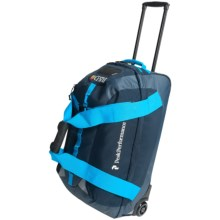 Peak Performance R&D Trolley Rolling Bag - 70L in Blue Shadow - Closeouts