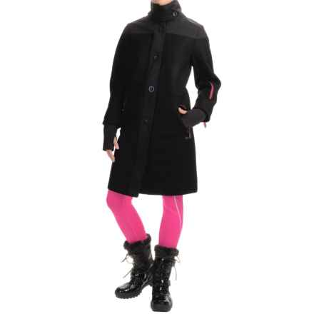 Peak Performance Ruth Jacket - Windproof, Wool Blend (For Women) in Black - Closeouts