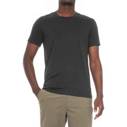 Peak Performance Shrug T-Shirt - Short Sleeve (For Men) in Black - Closeouts