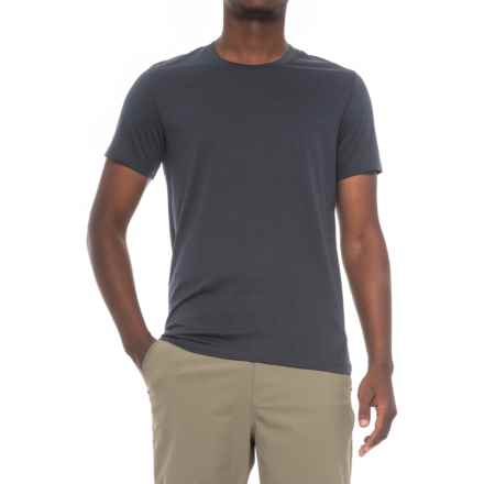 Peak Performance Shrug T-Shirt - Short Sleeve (For Men) in Saluteblue - Closeouts
