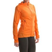 Peak Performance Silberhorn Wind Jacket (For Women) in Monk Orange - Closeouts