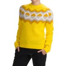 Peak Performance Sirri Sweater - Wool Blend (For Women) in Blaze Yellow - Closeouts