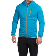 Peak Performance Slide Jacket - Waterproof, Insulated (For Men) in Mosaic Blue - Closeouts