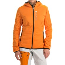 Peak Performance Slide Polartec® Jacket - Insulated (For Women) in Monk Orange - Closeouts