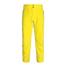 Peak Performance Supreme Aosta Pants - Waterproof, Insulated (For Men) in Blaze Yellow - Closeouts