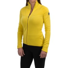 Peak Performance Supreme Montana Zip Sweater - Merino Wool-Cashmere (For Women) in Blaze Yellow - Closeouts