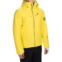 Peak Performance Supreme Turin Down Ski Jacket - Waterproof, 800 Fill Power (For Men) in Blaze Yellow - Closeouts