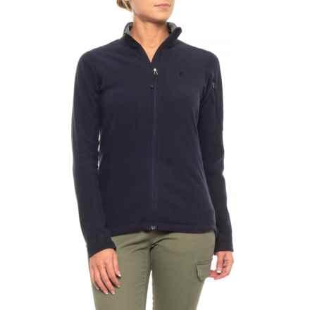 Peak Performance Synthetic Sweatshirt - Full Zip (For Women) in Saluteblue - Closeouts