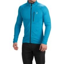 Peak Performance Waitara Jacket - Contrast Collar Trim (For Men) in Atomic Blue - Closeouts