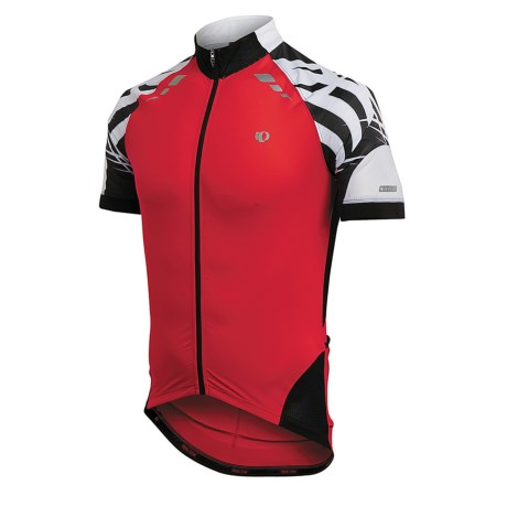 Pearl Izumi 2012 P.R.O. Cycling Jersey - Short Sleeve (For Men) in True Red/Black