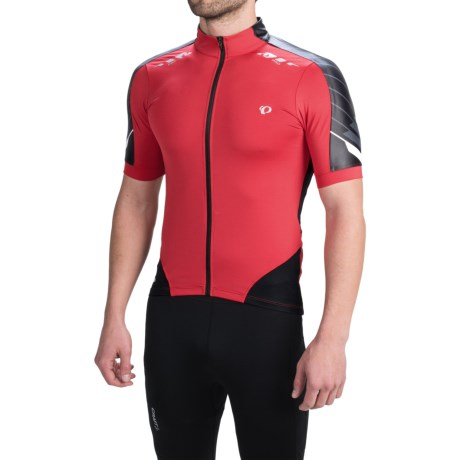 Pearl Izumi 2012 P.R.O. Cycling Jersey - Short Sleeve (For Men) in True Red/Shadow Grey