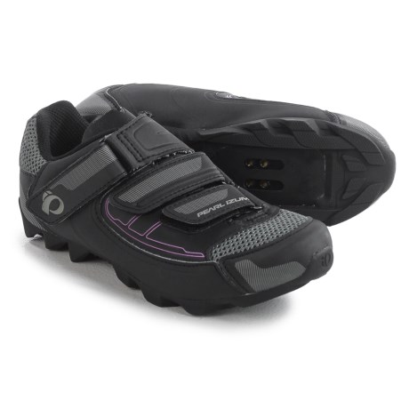 Pearl Izumi All-Road III Cycling Shoes - SPD (For Women) in Black/Black