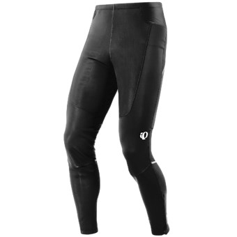 Pearl Izumi Amfib Running Tights (For Men) in Black/Black