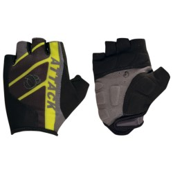 Pearl Izumi Attack Bike Gloves - Fingerless (For Men) in Screaming Yellow/Black