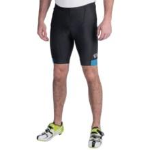 Pearl Izumi Attack Bike Shorts (For Men) in Black/Mykonos Blue - Closeouts