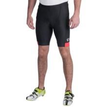 Pearl Izumi Attack Bike Shorts (For Men) in Black/True Red - Closeouts