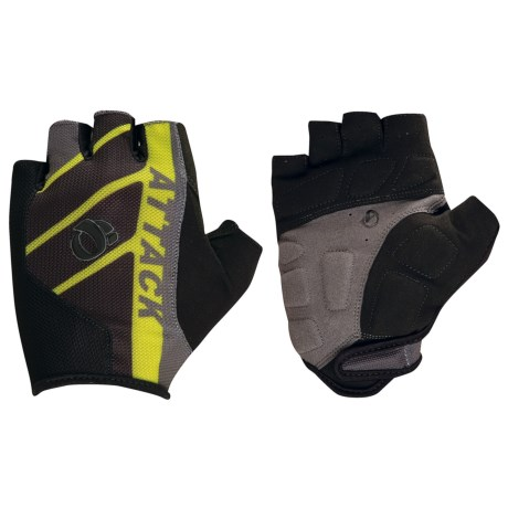 Pearl Izumi Attack Cycling Gloves - Fingerless (For Men) in Screaming Yellow/Black