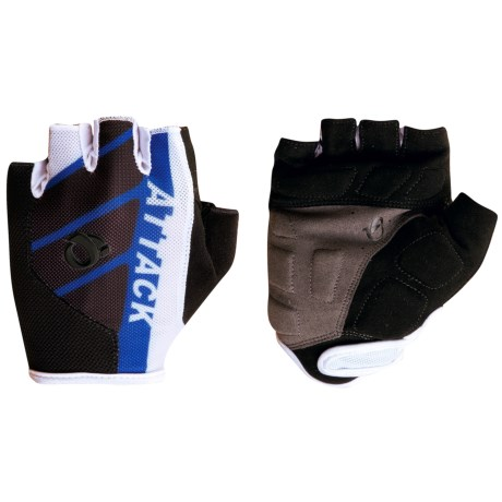 Pearl Izumi Attack Cycling Gloves - Fingerless (For Men) in True Blue/Black