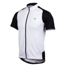 Pearl Izumi Attack Cycling Jersey - UPF 50+, Full Zip, Short Sleeve (For Men) in White/Black - Closeouts