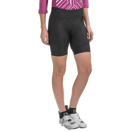 Pearl Izumi Attack Cycling Shorts - UPF 50+ (For Women) in Black Texture - Closeouts