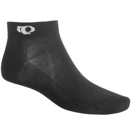 Pearl Izumi Attack Low Socks - Ankle (For Men) in Black - Closeouts