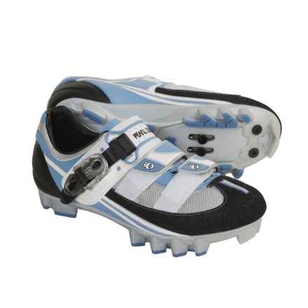 Pearl Izumi Attack MTB Cycling Shoes - SPD (For Women) in Horizon Blue/ Moonlight - Closeouts