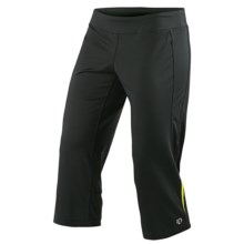 Pearl Izumi Aurora Capris (For Women) in Black/Lime - Closeouts
