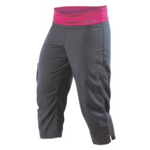 Pearl Izumi Aurora Capris (For Women) in Shadow Grey - Closeouts