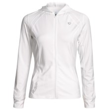 Pearl Izumi Aurora Lightweight Jacket - Hooded, Stretch (For Women) in White/White - Closeouts