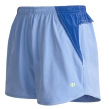 Pearl Izumi Aurora Running Shorts (For Women) in Horizon Blue/Celestial Blue - Closeouts