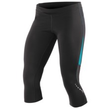 Pearl Izumi Aurora Splice Knickers (For Women) in Black/Peacock - Closeouts