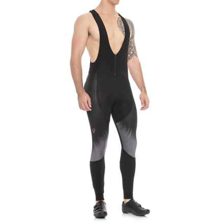 Pearl Izumi Black Pursuit Thermal Cycling Big Tights (For Men) in Black Rush - Closeouts