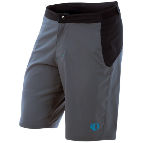 Pearl Izumi Canyon Cycling Shorts (For Men) in Shadow Grey/Black
