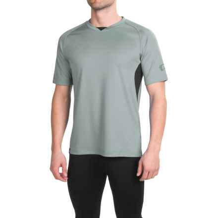 Pearl Izumi Canyon Jersey - Short Sleeve (For Men) in Belgin Block - Closeouts