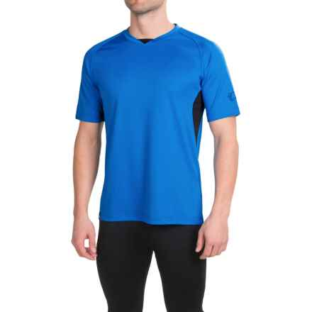 Pearl Izumi Canyon Jersey - Short Sleeve (For Men) in Brilliant Blue - Closeouts