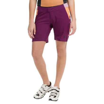 Pearl Izumi Canyon Mountain Bike Shorts - 2-Piece (For Women) in Dark Purple - Closeouts