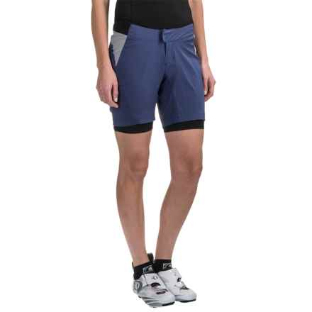 Pearl Izumi Canyon Mountain Bike Shorts - 2-Piece (For Women) in Deep Indigo - Closeouts