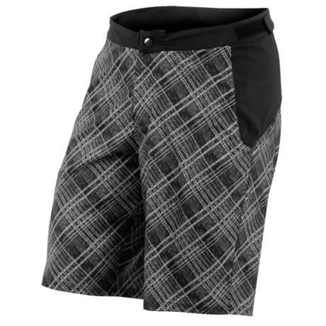Pearl Izumi Canyon Mountain Bike Shorts (For Men) in Samurai Plaid