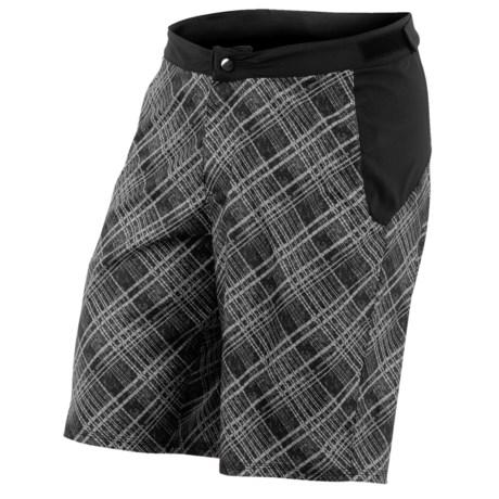 Pearl Izumi Canyon Mountain Bike Shorts (For Men) in Samurai Plaid