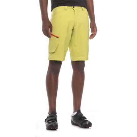 Pearl Izumi Canyon Mountain Bike Shorts - Removable Liner Shorts (For Men) in Citron - Closeouts
