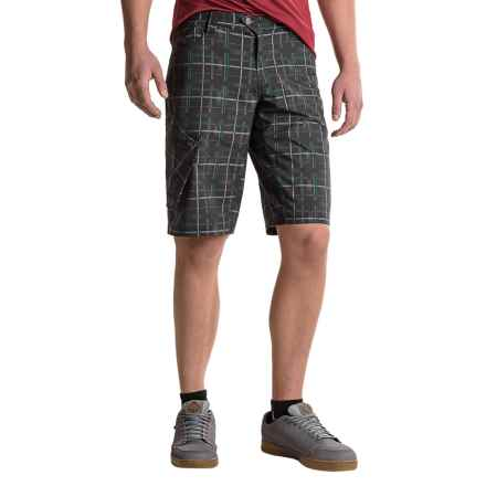 Pearl Izumi Canyon Mountain Bike Shorts - Removable Liner Shorts (For Men) in Plaid - Closeouts