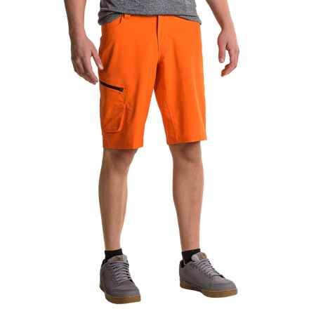 Pearl Izumi Canyon Mountain Bike Shorts - Removable Liner Shorts (For Men) in Red Orange - Closeouts