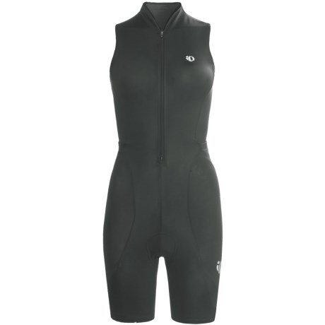 Pearl Izumi Cycling Suit - Drop Tail, Sleeveless (For Women) in Black