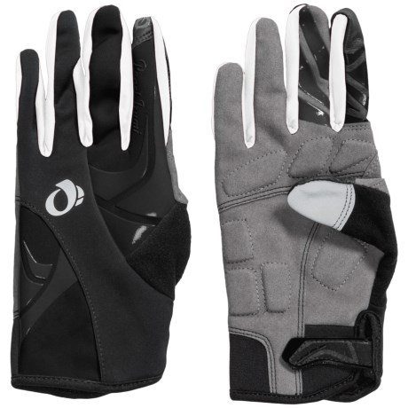 Pearl Izumi Cyclone Bike Gloves - Full Finger, Touchscreen Compatible (For Women) in Black